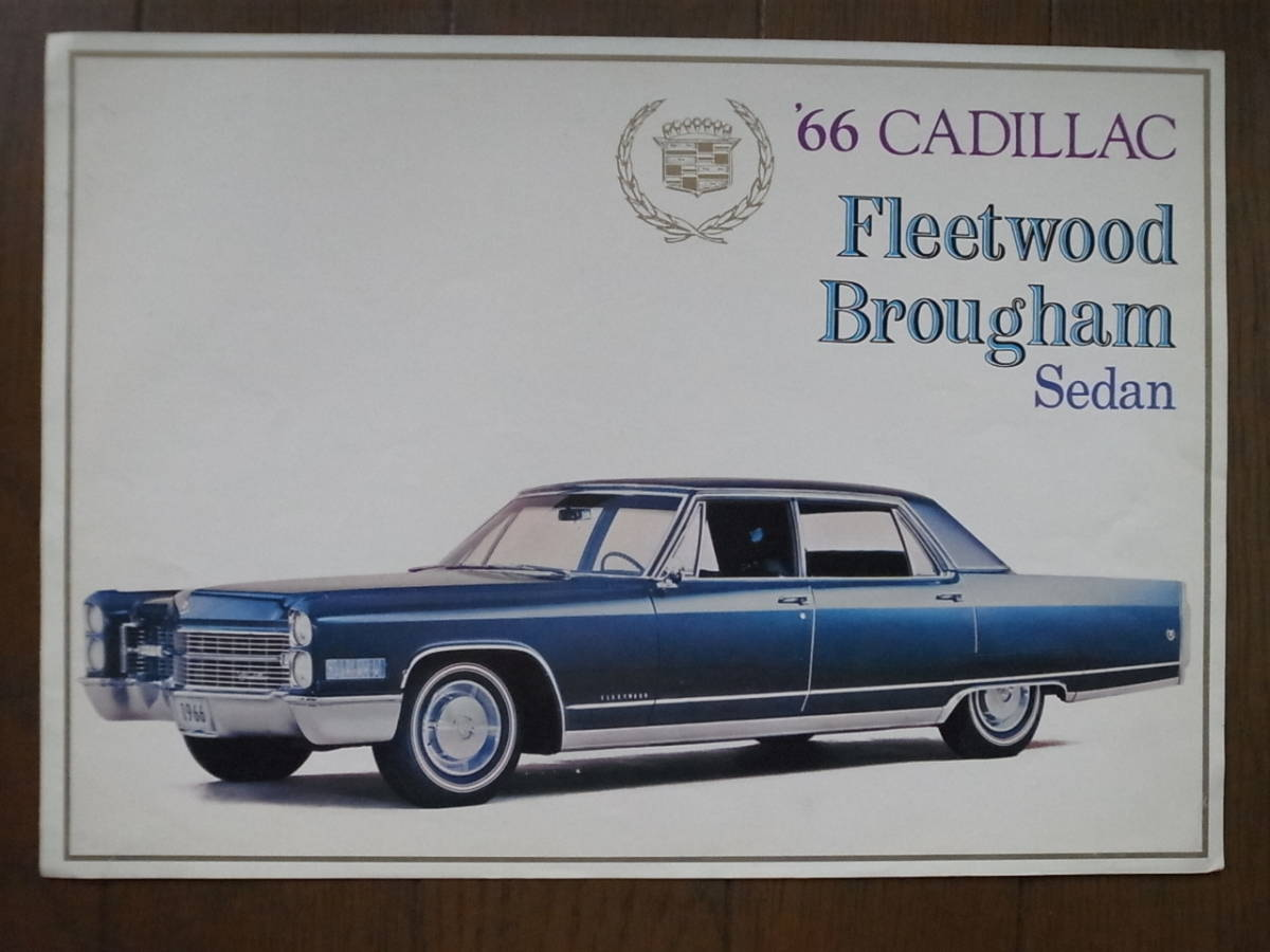 ★60's カタログ★ キャデラック Cadillac 1966_画像1