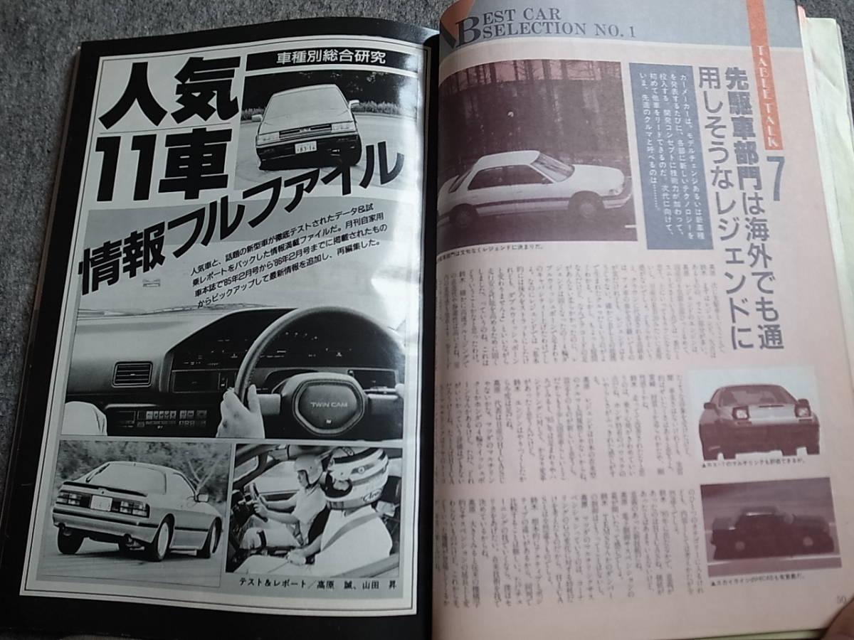 月刊 自動車 1986年臨時増刊 車種別総合えんま帳_画像5