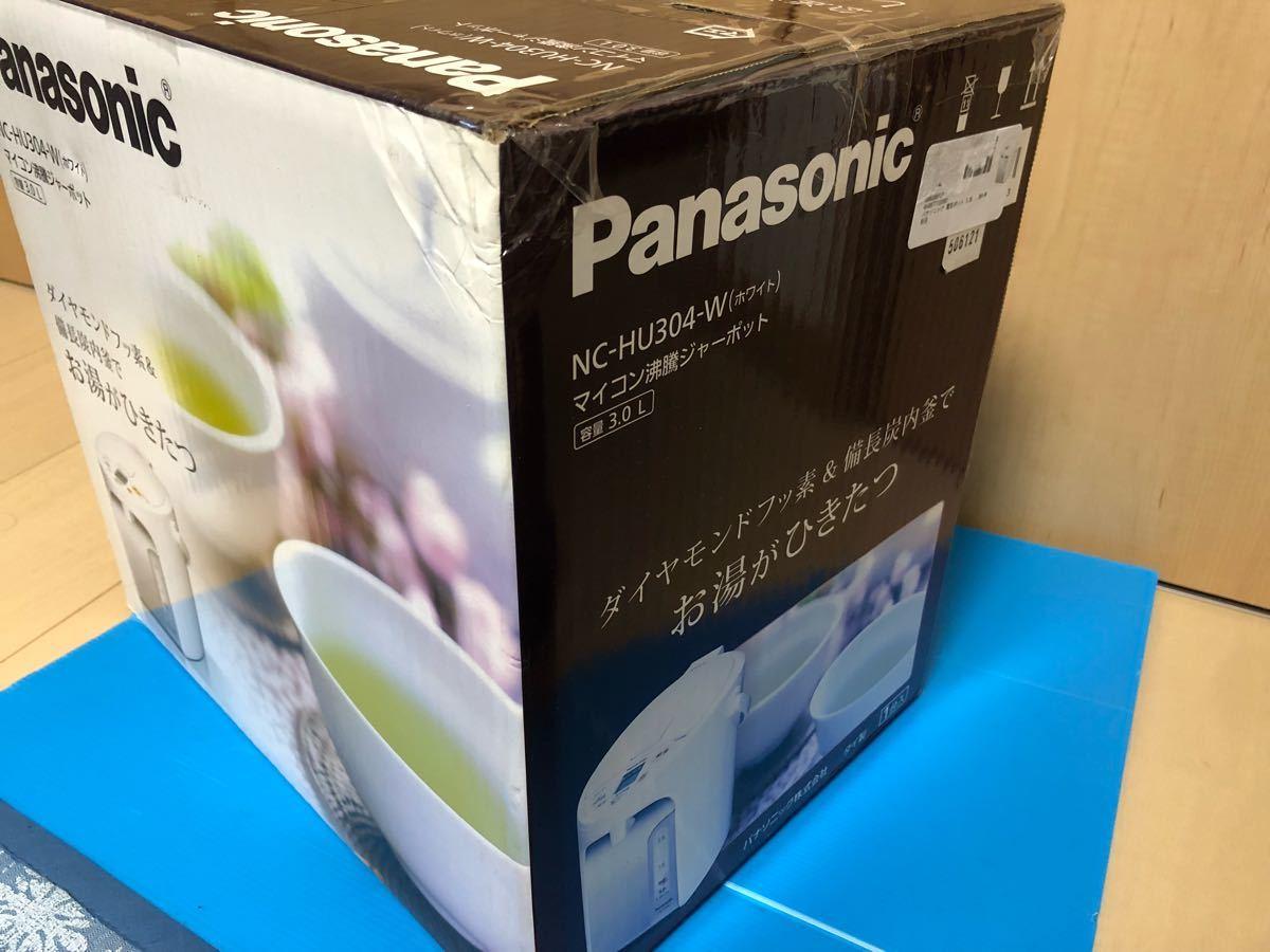 パナソニック 電気ポット 3.0L 真空断熱 給湯量 NC-HU304-W