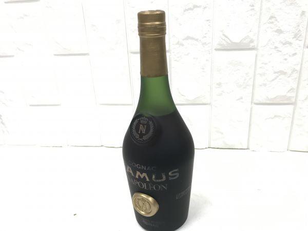 未開封 CAMUS NAPOLEON カミュ ナポレオン コニャック ブランデー 古酒 fah 4Y219_画像5