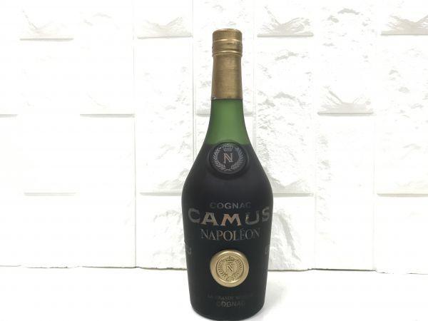 未開封 CAMUS NAPOLEON カミュ ナポレオン コニャック ブランデー 古酒 fah 4Y219_画像1