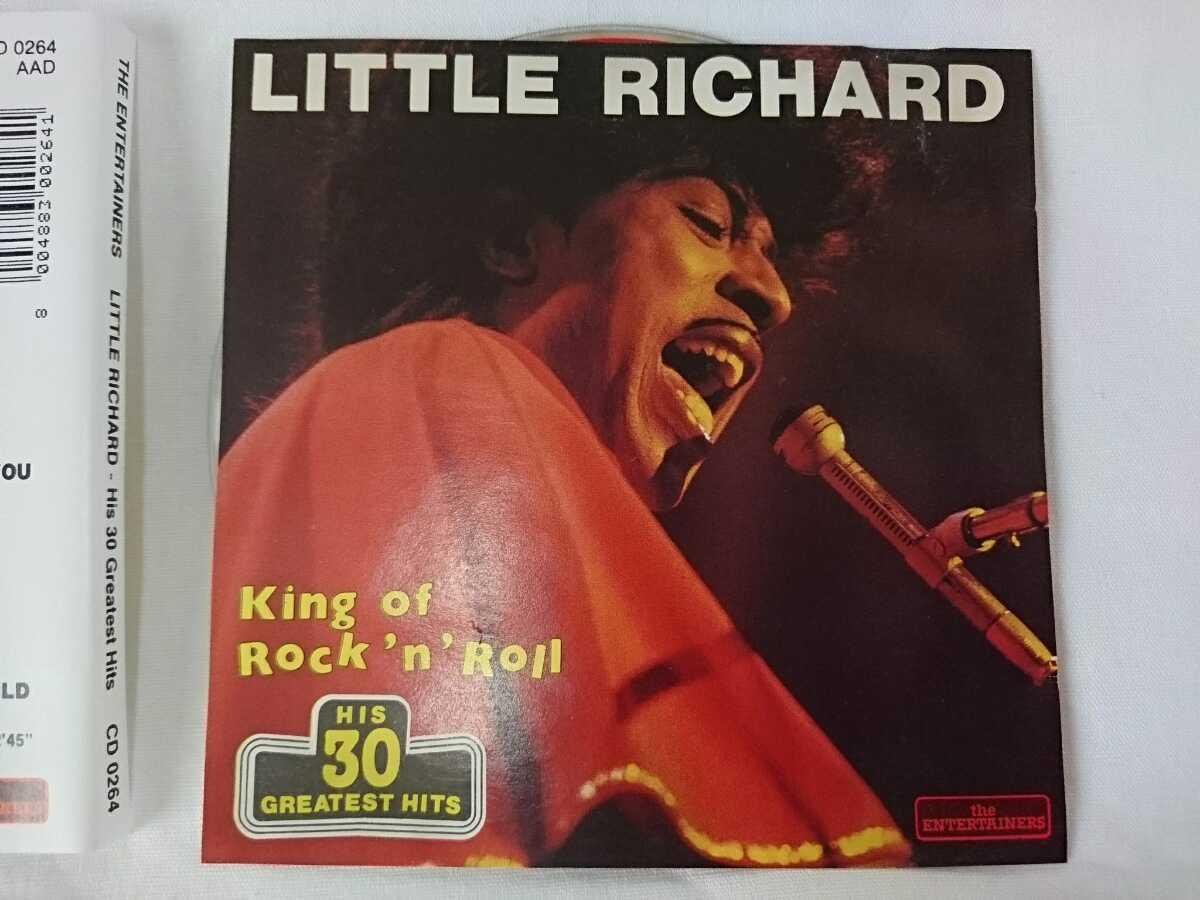リトルリチャード ベスト輸入盤 全30曲収録 littleRichard 洋楽CD 再生確認済