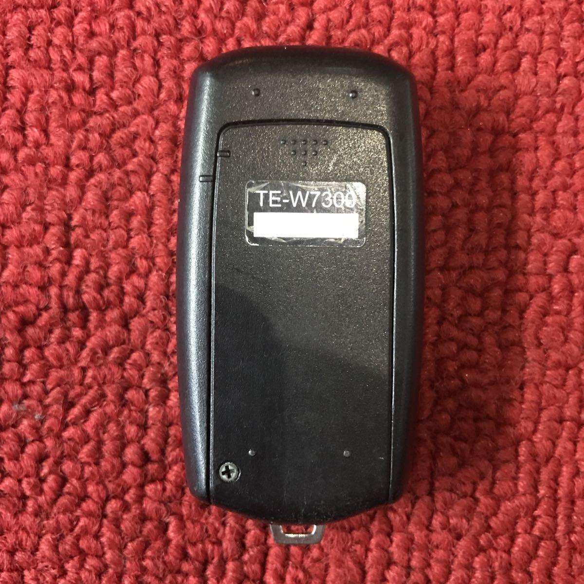 カーメイト TE-W7300 エンジンスターター リモコン 作動未チェック PP308_画像2