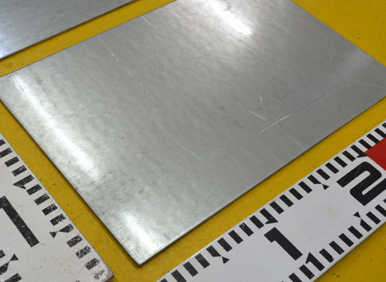 鉄 ペンタイト鋼板(屋外用)(1.2~3.2mm厚)の(300x200~100x100mm)定寸・枚数販売 F11_画像2