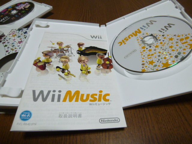 Q36【即日配送 送料無料 動作確認済】Wiiソフト ジャストダンスWii Wiiミュージック