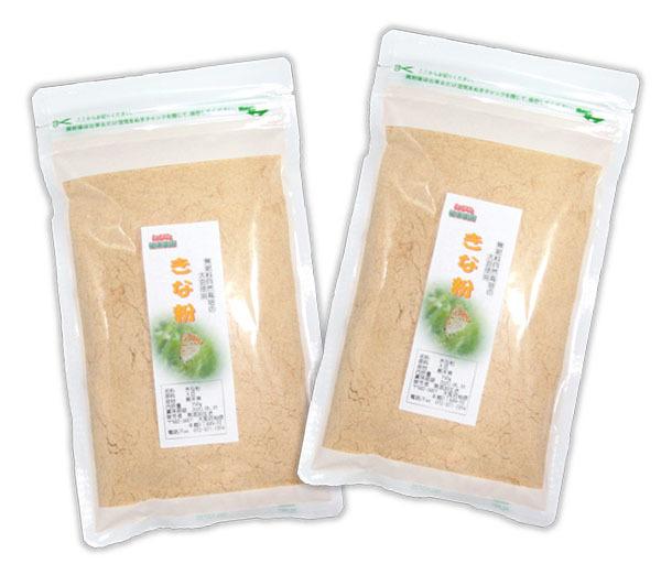 自然栽培 きな粉 (150g)X2袋☆無肥料・無農薬・自家採取の在来種大豆☆熊本県産☆大豆が持つ本来の甘味があり、自然の温もりが感じられます_画像1