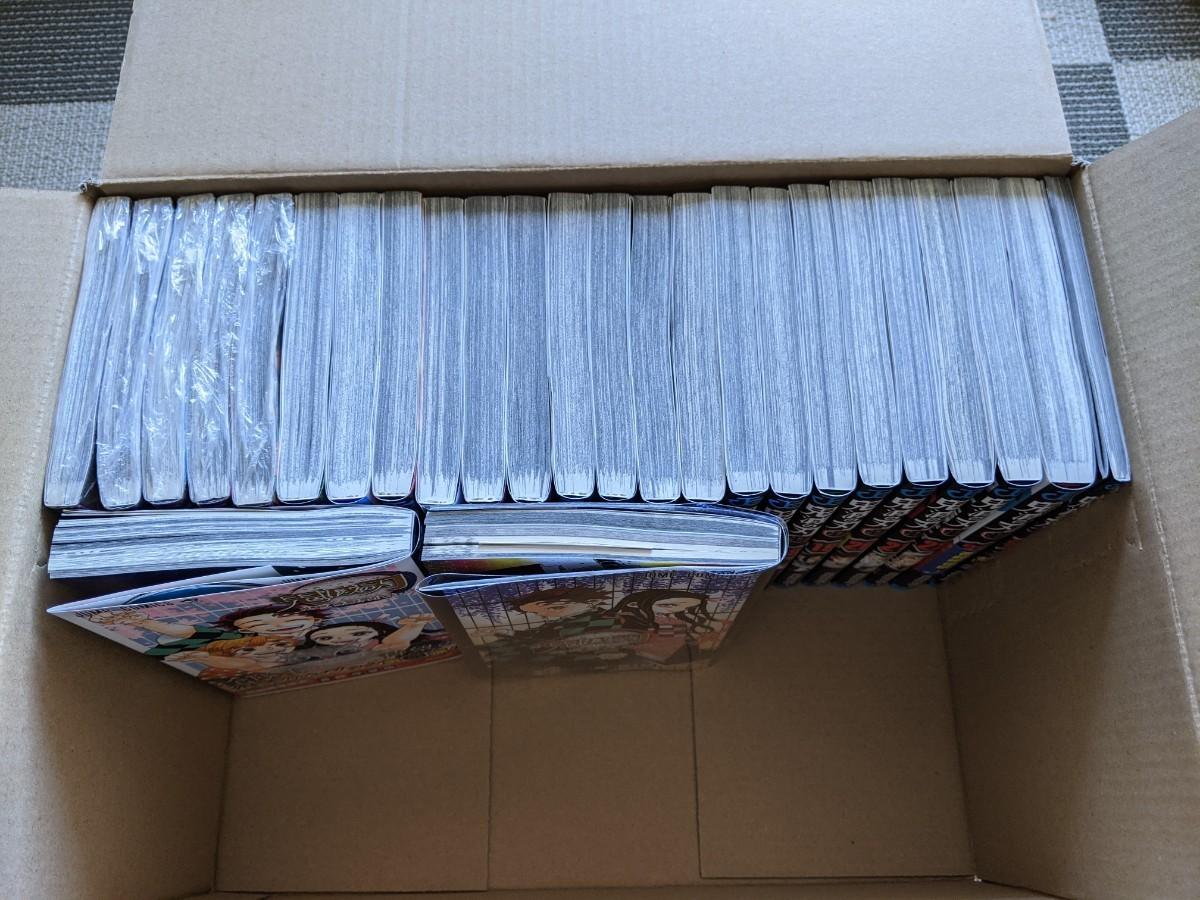 鬼滅の刃 コミック 漫画 全巻 1巻から23巻 ファンブック2冊 零巻 0巻 22巻特装版の小冊子 付き