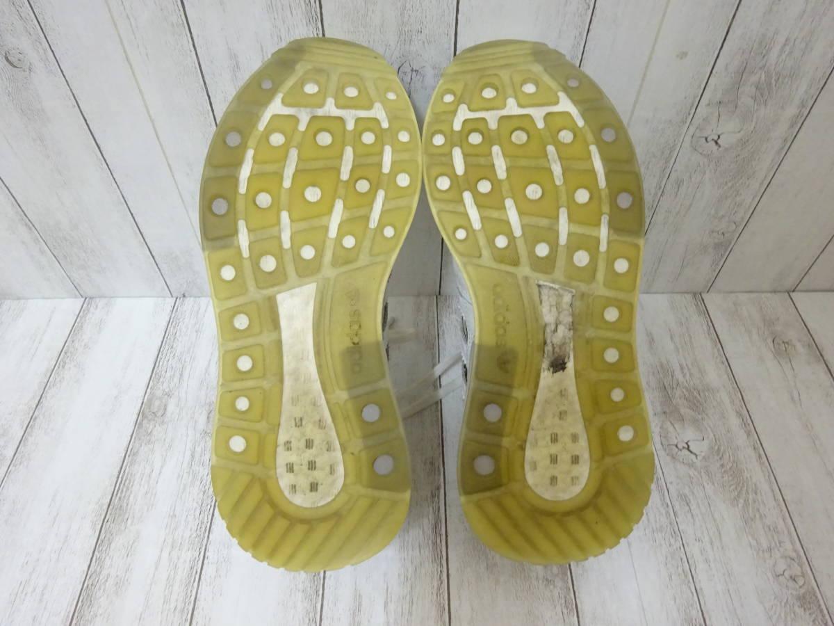 adidas Originals ZX500 RM スニーカー ヘビ柄 スネーク柄 ライトグレー 白 25cm US7 アディダス オリジナルス_画像8