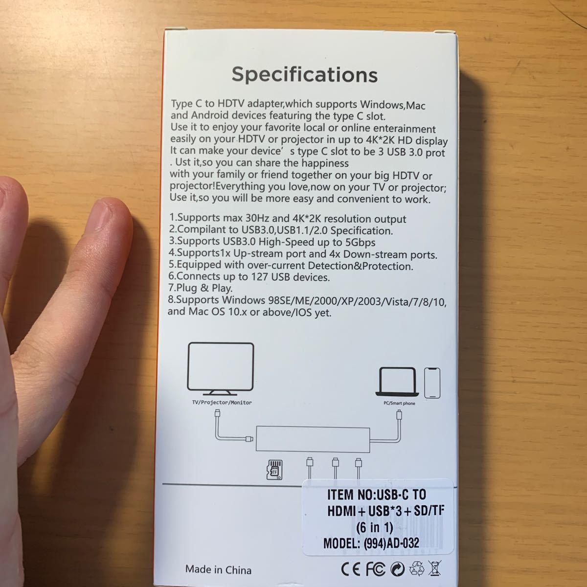USB Adapter Apple USB-C HDMI typeC USB変換アダプタです。