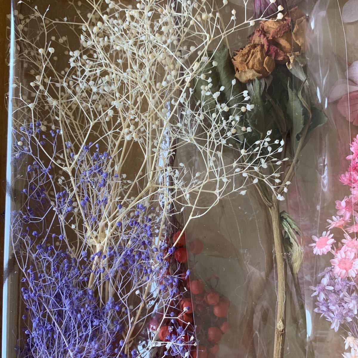 ハーバリウム花材 プリザーブドフラワー ドライフラワー ピンク系_画像4