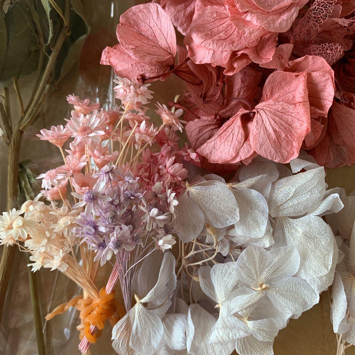 ハーバリウム花材 プリザーブドフラワー ドライフラワー ピンク系_画像5