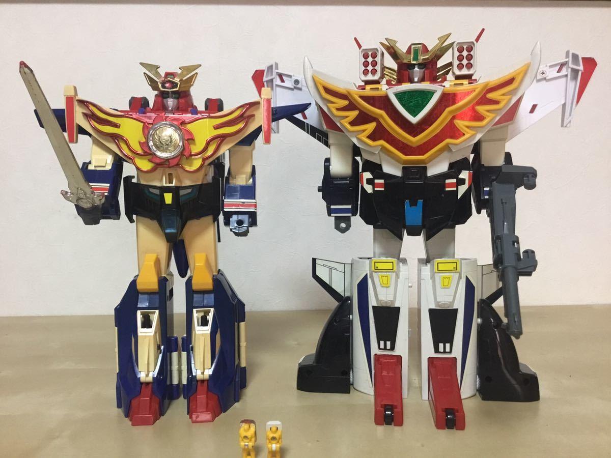 太陽の勇者 ファイバード 当時物 DX グレート 合体 グランバード 検( おもちゃ ロボット 勇者 スーパー戦隊 タカラ transformers ブレイブ