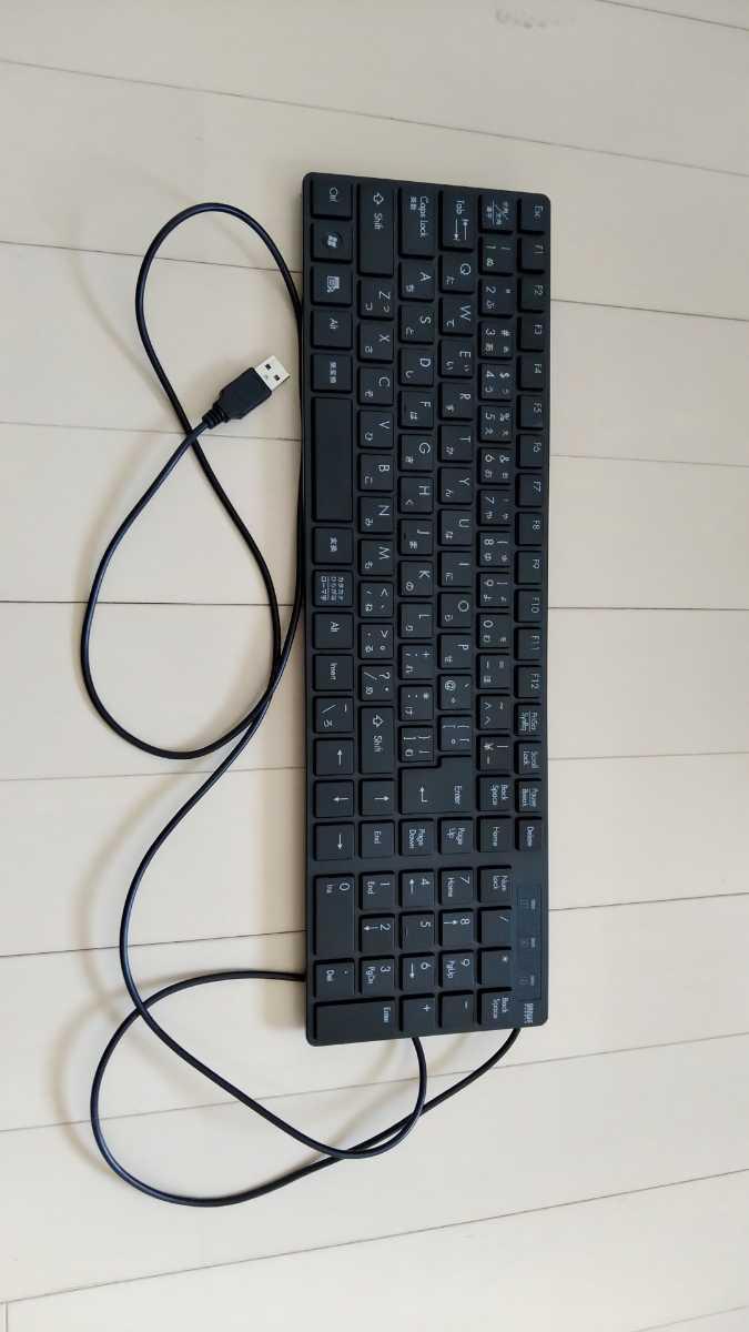 【ジャンク品】sanwa サンワ USBキーボード テンキー