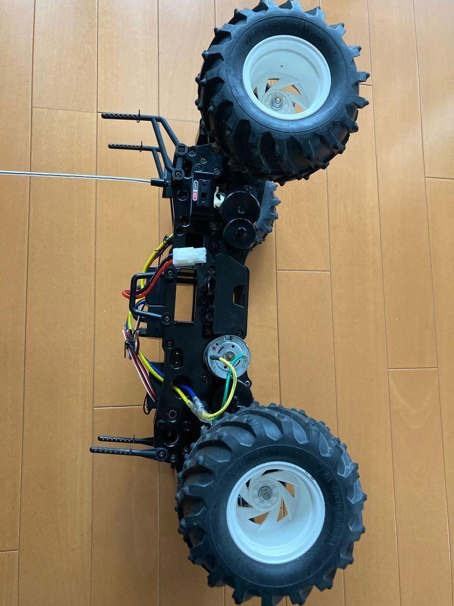 タミヤ1/10ラジコン  4WD デュアルハンター  (フルセット)