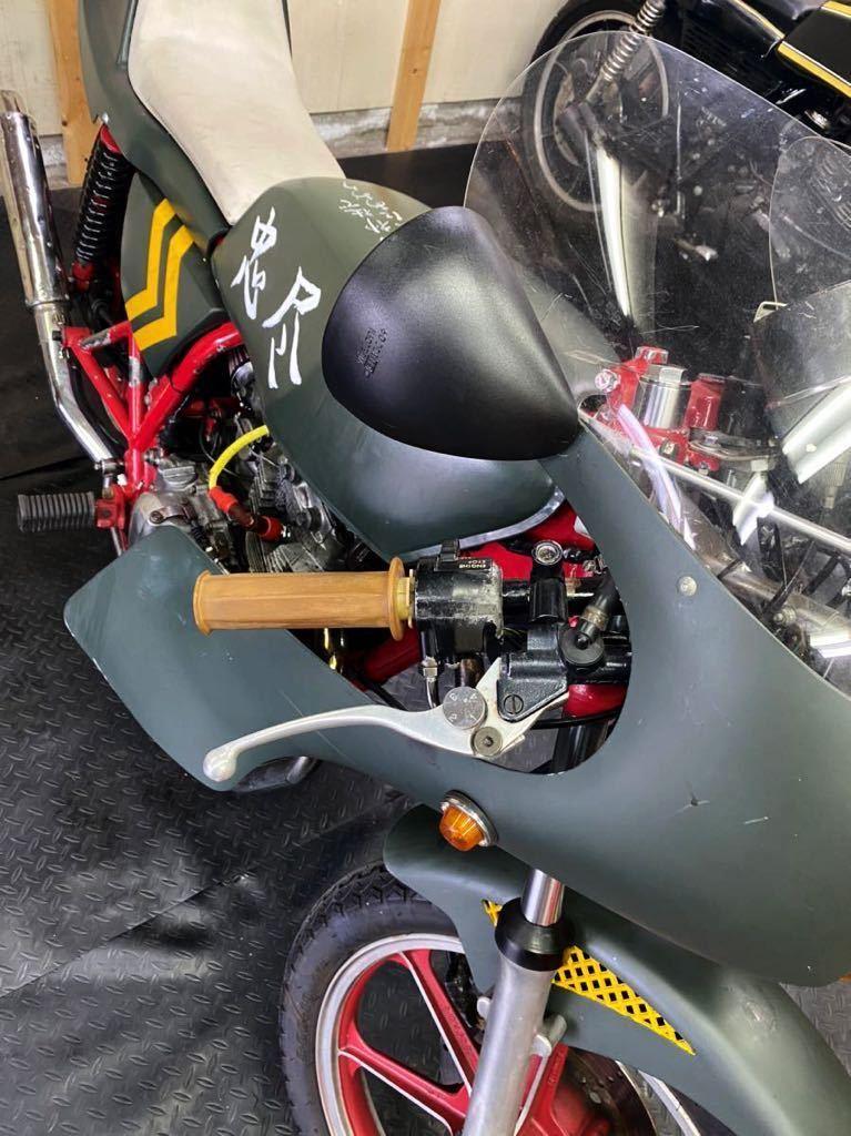 カワサキ Z250FT 305cc 自賠責付き (検)GS GT SS KH マッハ バブ FX CB ザリ ゴキ マーシャル カフェレーサー ロケットカウル_画像5