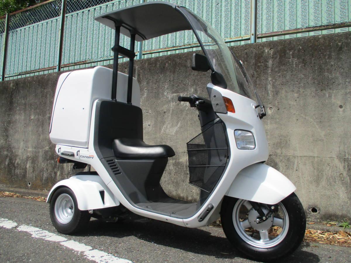 「TA03 ジャイロキャノピー 4サイクル    JMS製ボックス付 ミニカー車両」の画像1
