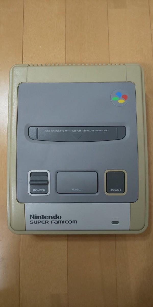 スーパーファミコン 本体 ソフト3本