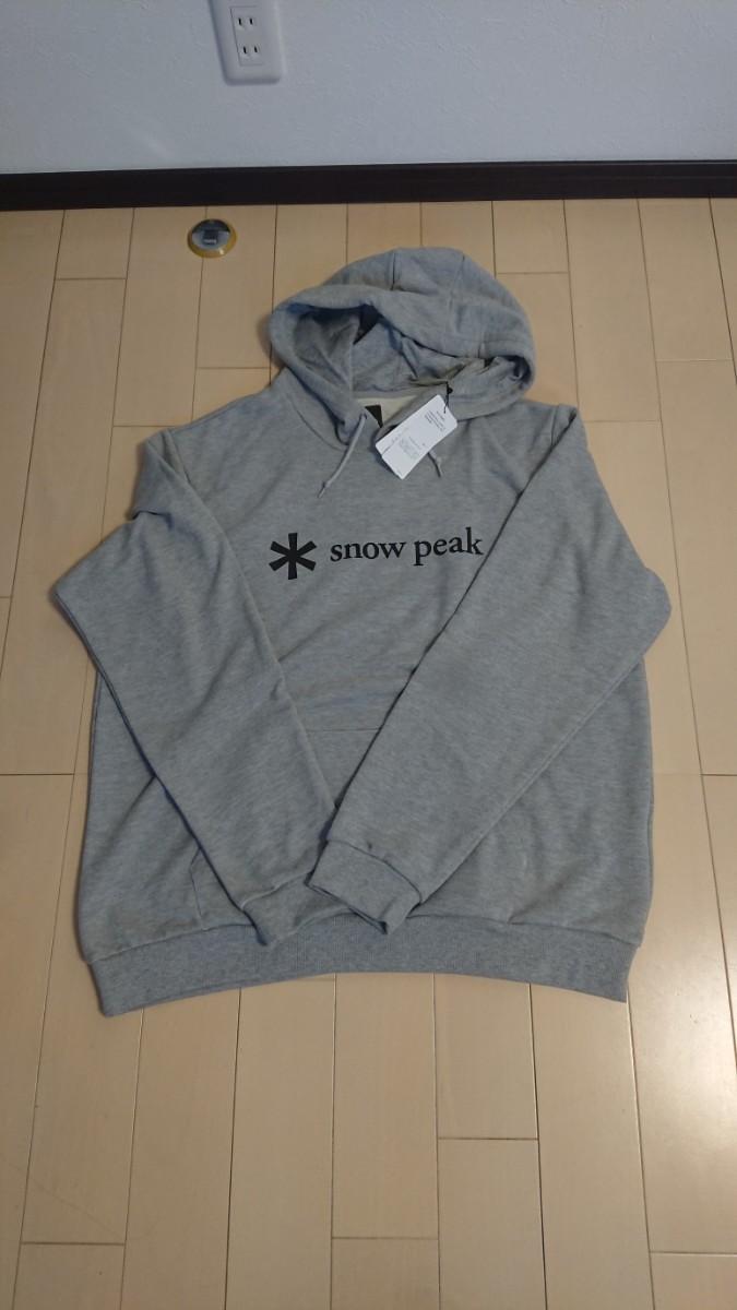 snow peak Printed Logo Sweat Hoodie XL