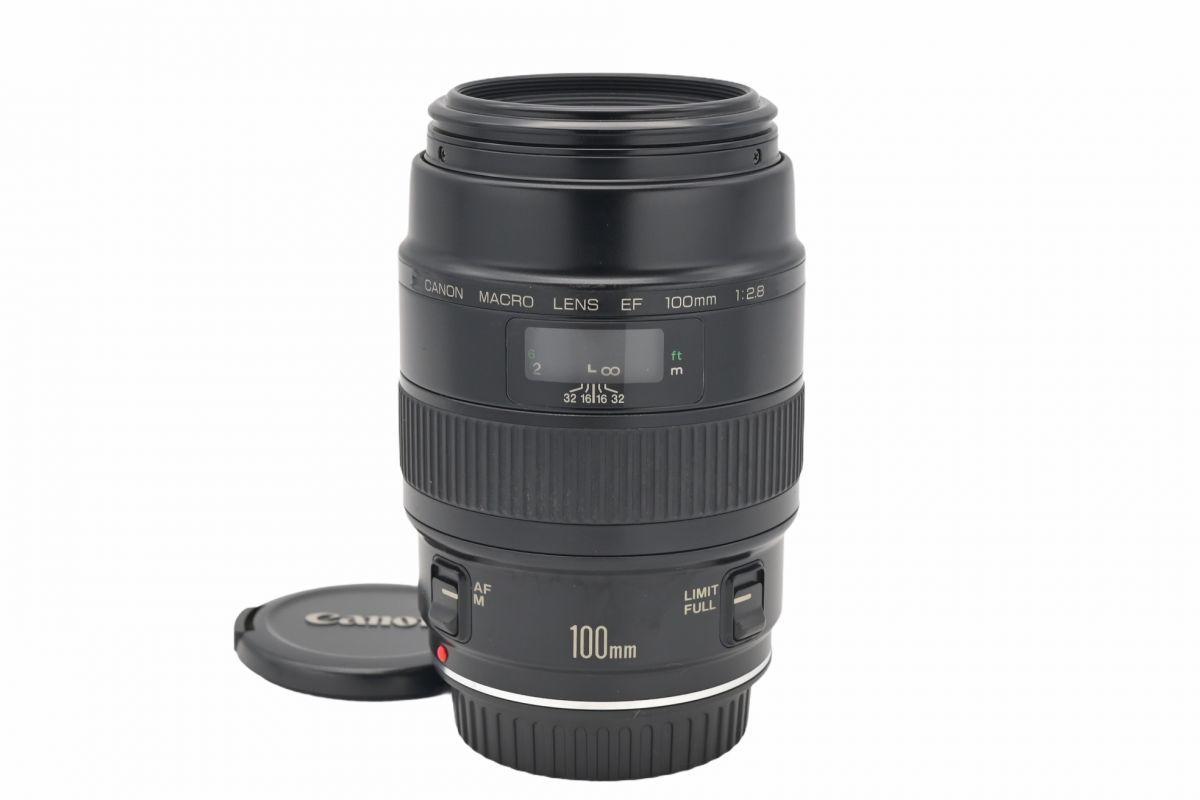 11532cmrk ◆ Canon キヤノン MACRO LENS EF 100mm F2.8 単焦点 マクロレンズ EFマウント