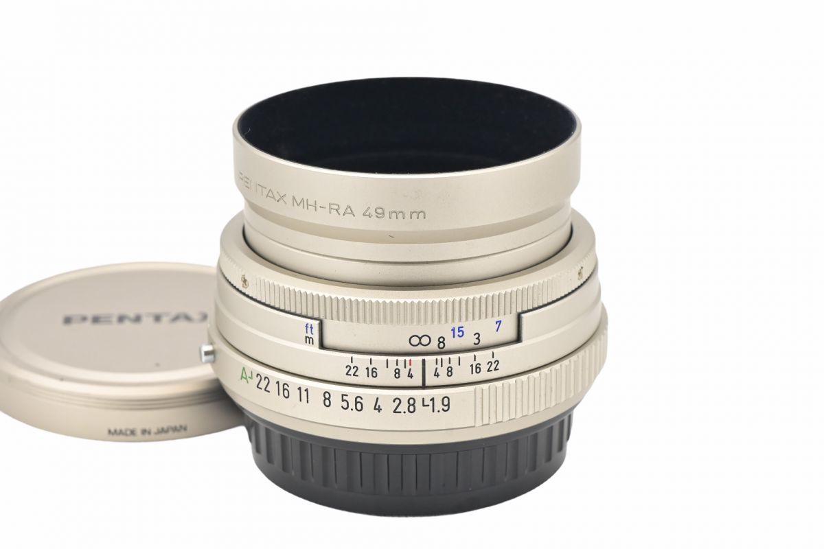 11614cmrk ◆ PENTAX ペンタックス smc PENTAX-FA 43mm F1.9 Limited 単焦点 標準レンズ Kマウント