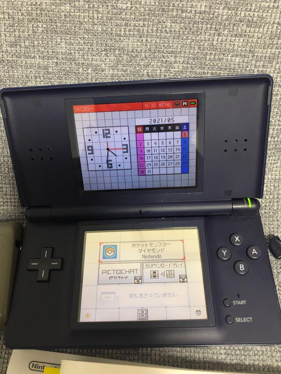 Nintendo DS Lite ニンテンドー ネイビー ニンテンドーDS Lite タッチペン