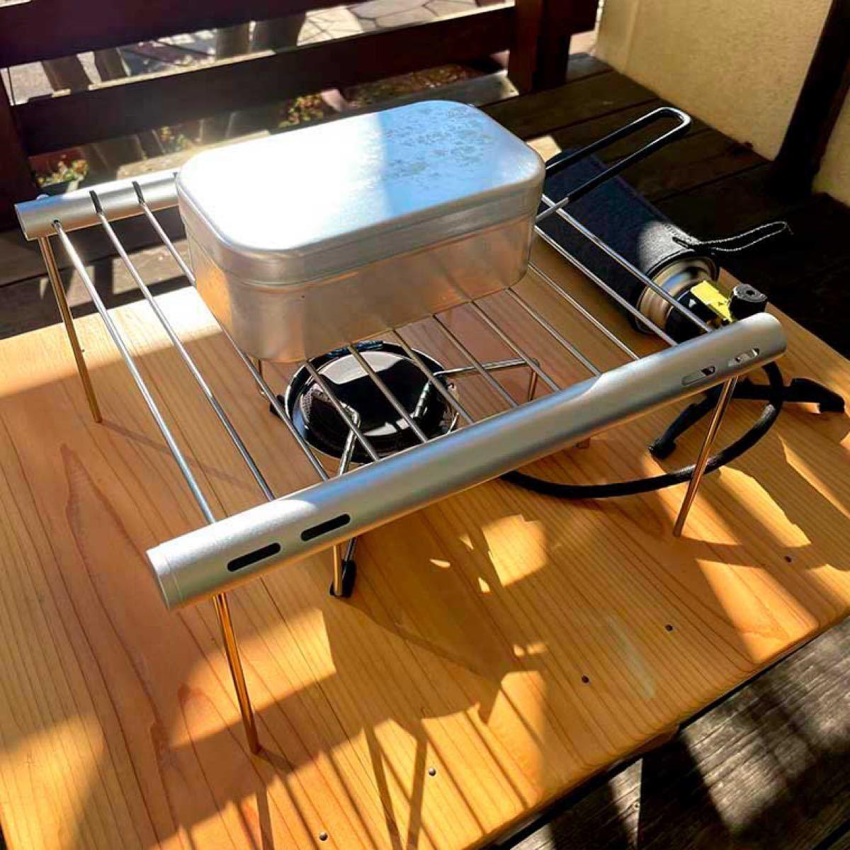 バーナー用ゴトク コンパクト収納 スティックタイプ キャンプ 料理