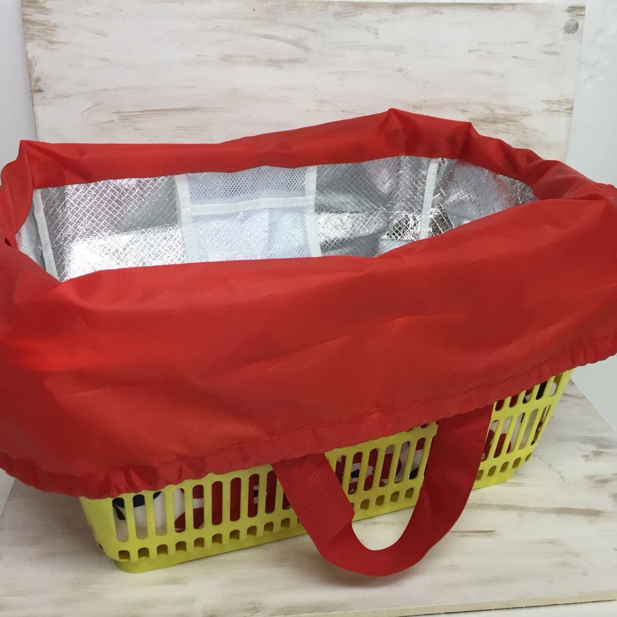 保冷バッグ エコバッグ レジバッグ ショッピングバッグ レディース レジャーバッグ クーラーバッグ 新品 フラワーレッド