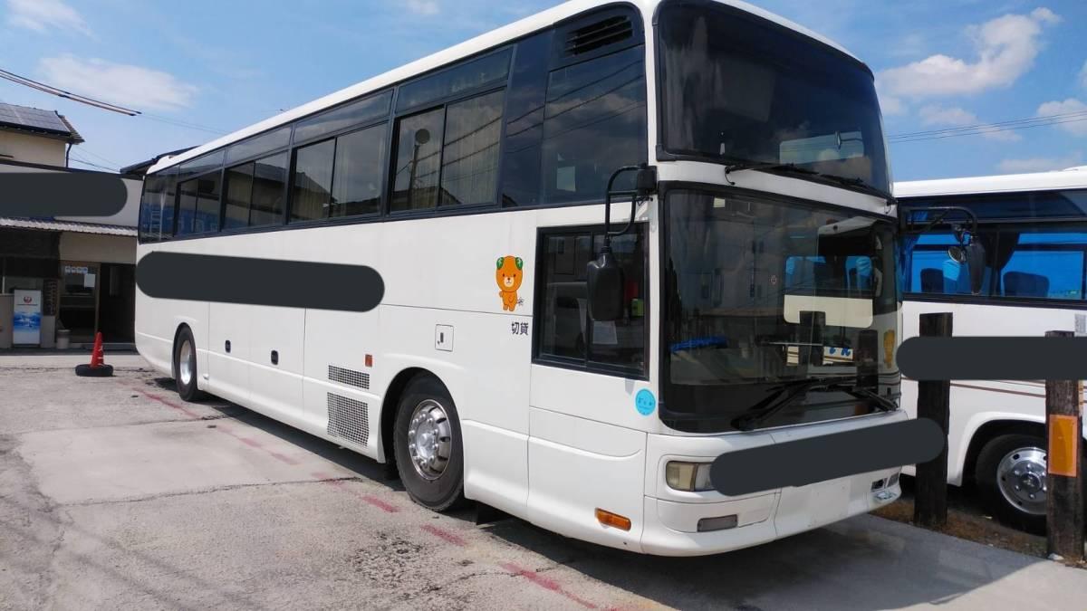 「平成9年いすゞガーラ 47人乗り 大型バス  車検なし 代替えの為売り切ります」の画像1