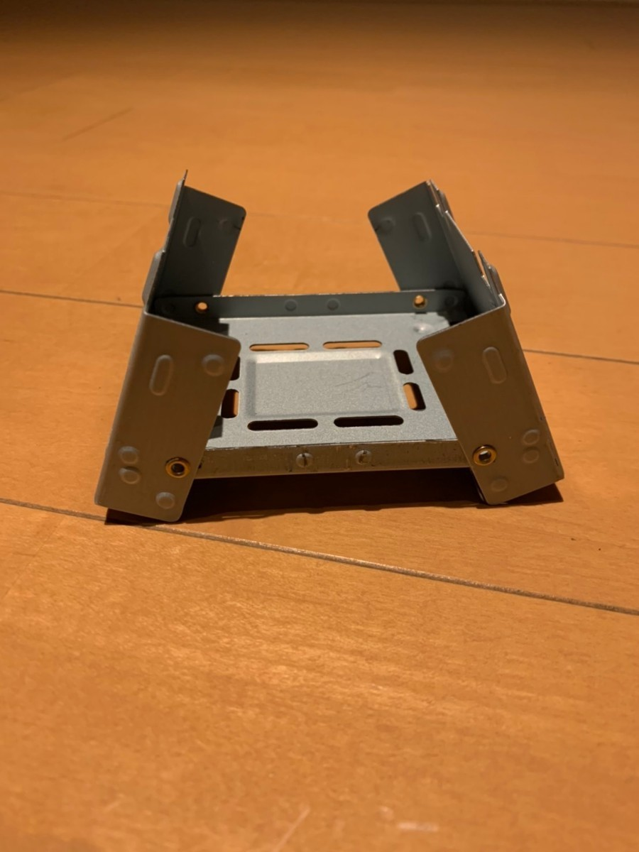 ポケットストーブ ミニ コンロ ストーブ 折りたたみ式 固形燃料 メスティン