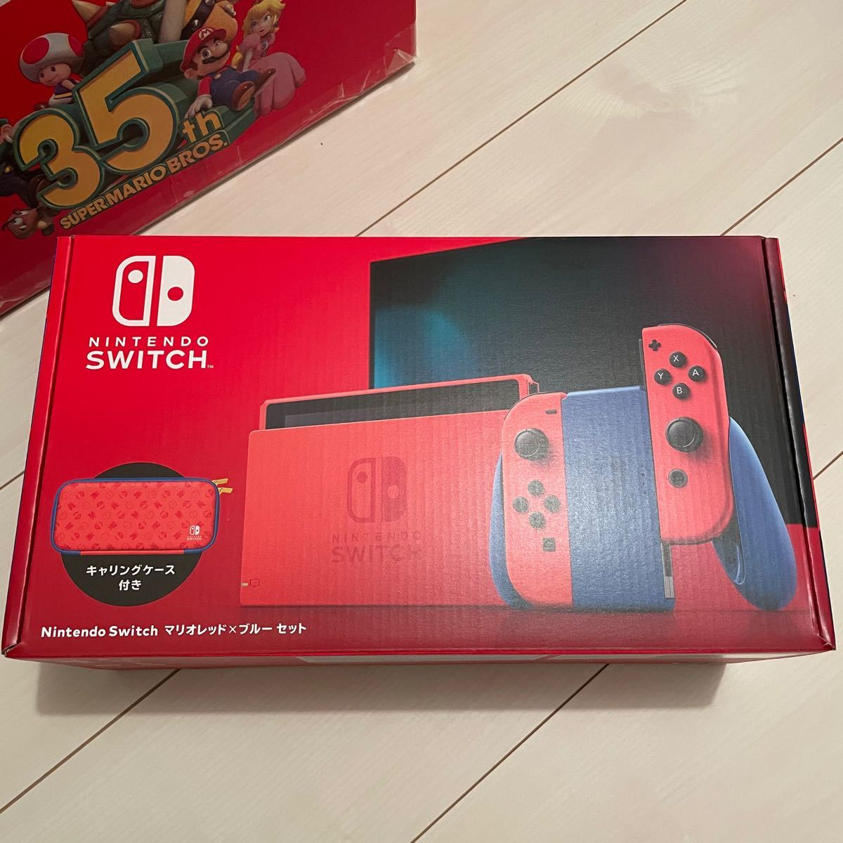 マリオレッド ブルー スイッチ Joy-Con Nintendo Switch 各パーツ 新品未使用 本体以外のセット バラ売り