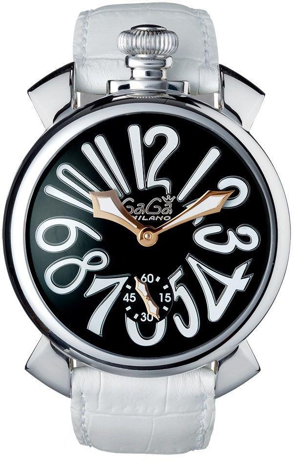 【GaGa MILANO】ガガミラノ マヌアーレ48 5010.06S 手巻き メンズ【中古】_画像1