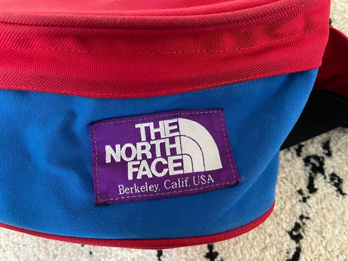 【THE NORTH FACE PURPLE LABEL】 ウエストバック