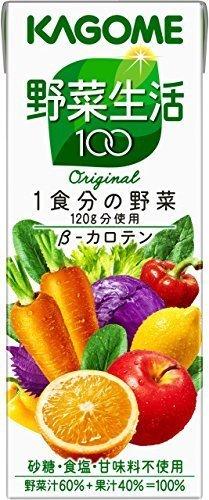 新品特価/200ml×24本 カゴメ 野菜生活100 オリジナル 200ml×24本BN1K_画像1