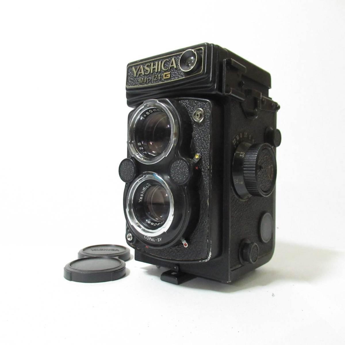 カメラ 二眼レフ 本体 Yashica Mat 124 G ジャンク品 [3219KC]