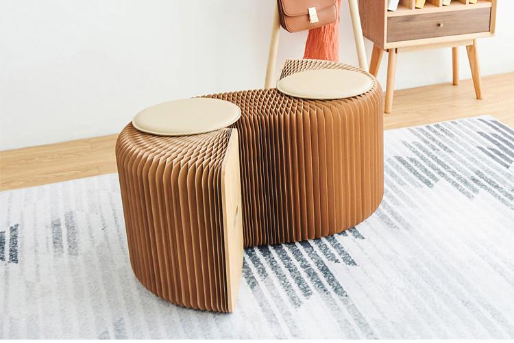 新品 未使用 入手困難 3人用 INS世界で大人気な椅子 竹製 肉厚座面 北欧伸縮イス椅子 折り畳み 綺麗 頑丈 座り心地いい 高さ42cm 全長150cm_画像8