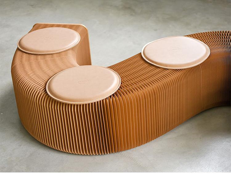 新品 未使用 入手困難 3人用 INS世界で大人気な椅子 竹製 肉厚座面 北欧伸縮イス椅子 折り畳み 綺麗 頑丈 座り心地いい 高さ42cm 全長150cm_画像4