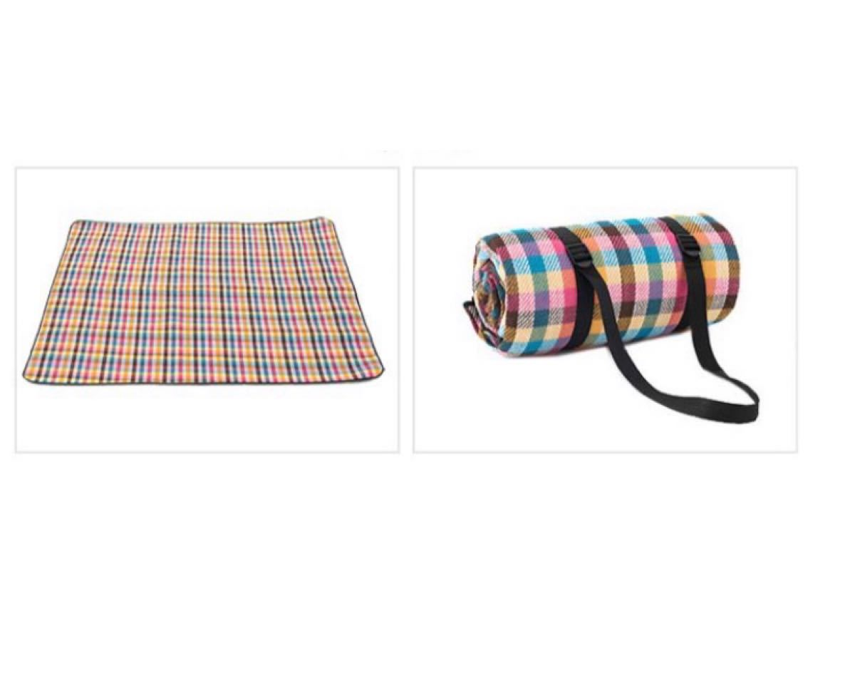 レジャーシート ピクニックマット 厚手 200×150 折りたたみ 防水 3~6人用  収納袋付 キャンプ アウトドア
