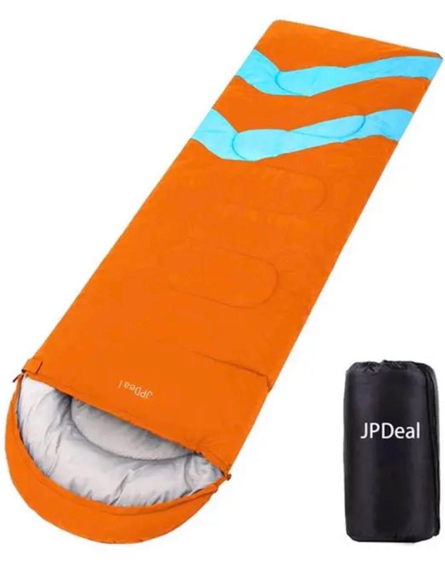 寝袋 封筒型 軽量 アウトドア キャンプ 車中泊 車内 旅行 防災 災害 睡眠