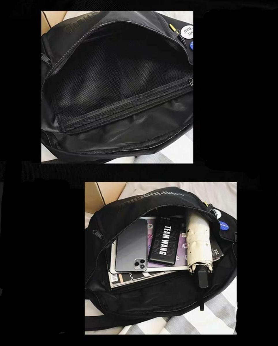 メンズ バッグ ボディバッグ ショルダーバッグ メッセンジャーバッグ 男女兼用 軽量