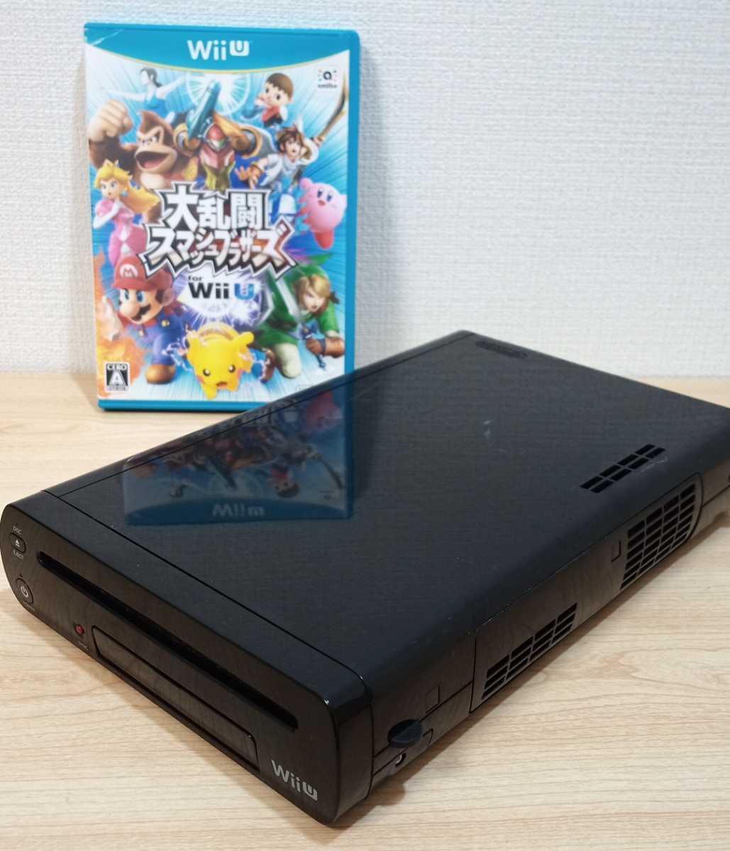 動作品 即納 Wii Uプレミアムセット本体 & 大乱闘スマッシュブラザーズ for Wii U & ファイター全部入りパック(有料追加コンテンツ)_2枚目以降が出品現物の写真です