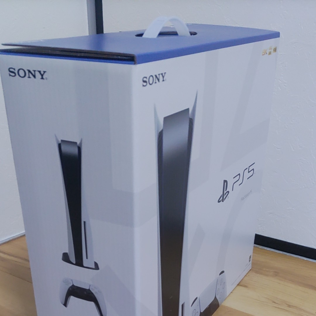 【新品】SONY PlayStation5 ディスクドライブ搭載モデル CFI-1000A01