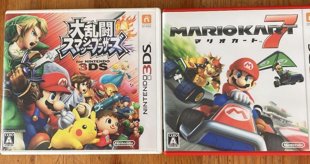 3DS 大乱闘スマッシュブラザーズ3DS+マリオカート7