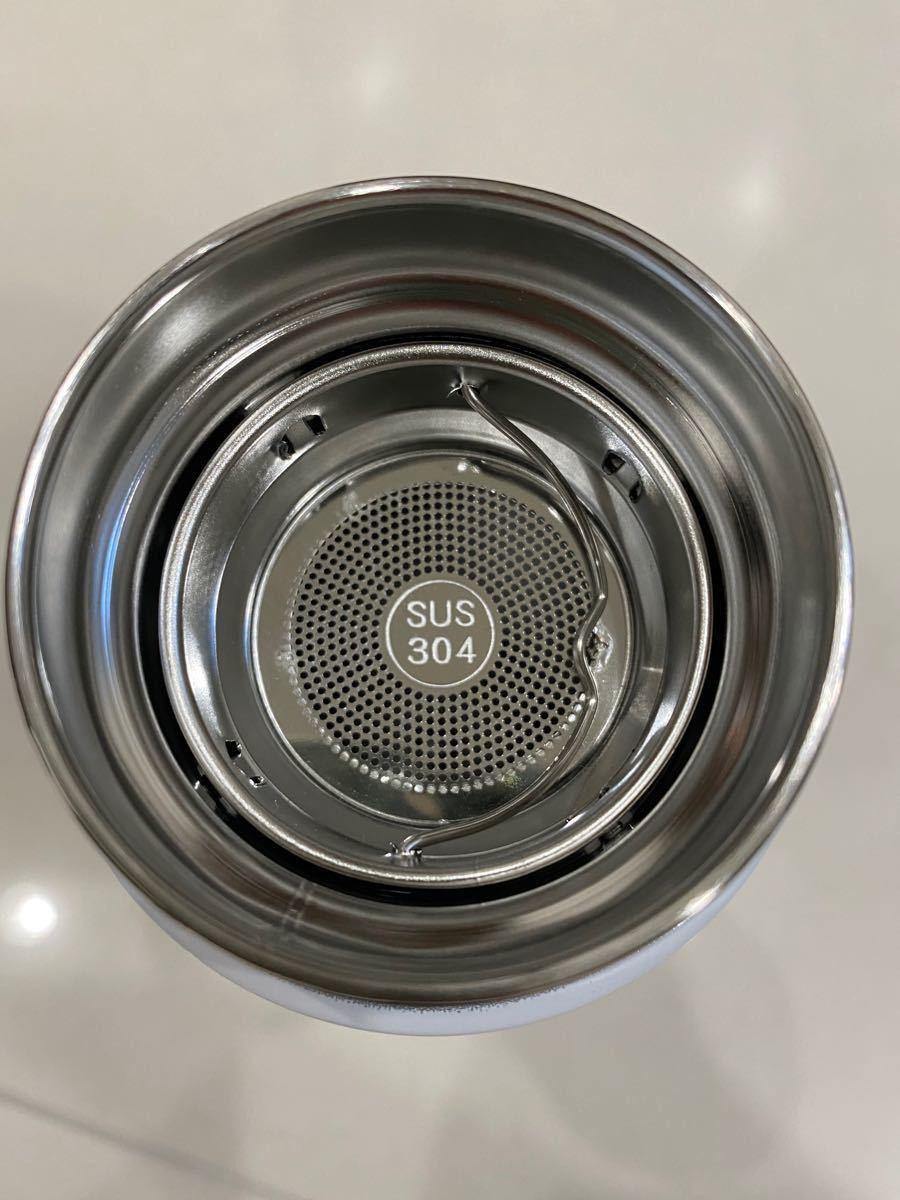 水筒 温度表示 保温 保冷 軽量 500ml 304ステンレスボトル 新品 3