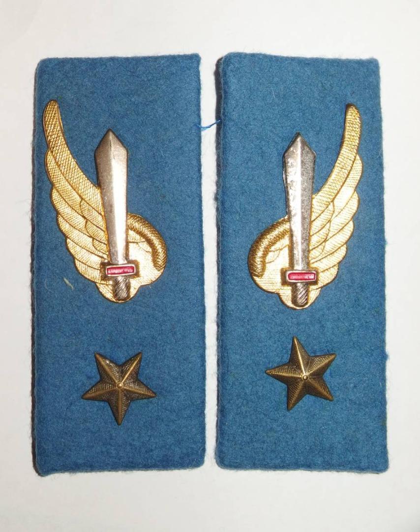 イタリア軍 空挺部隊襟章_画像1