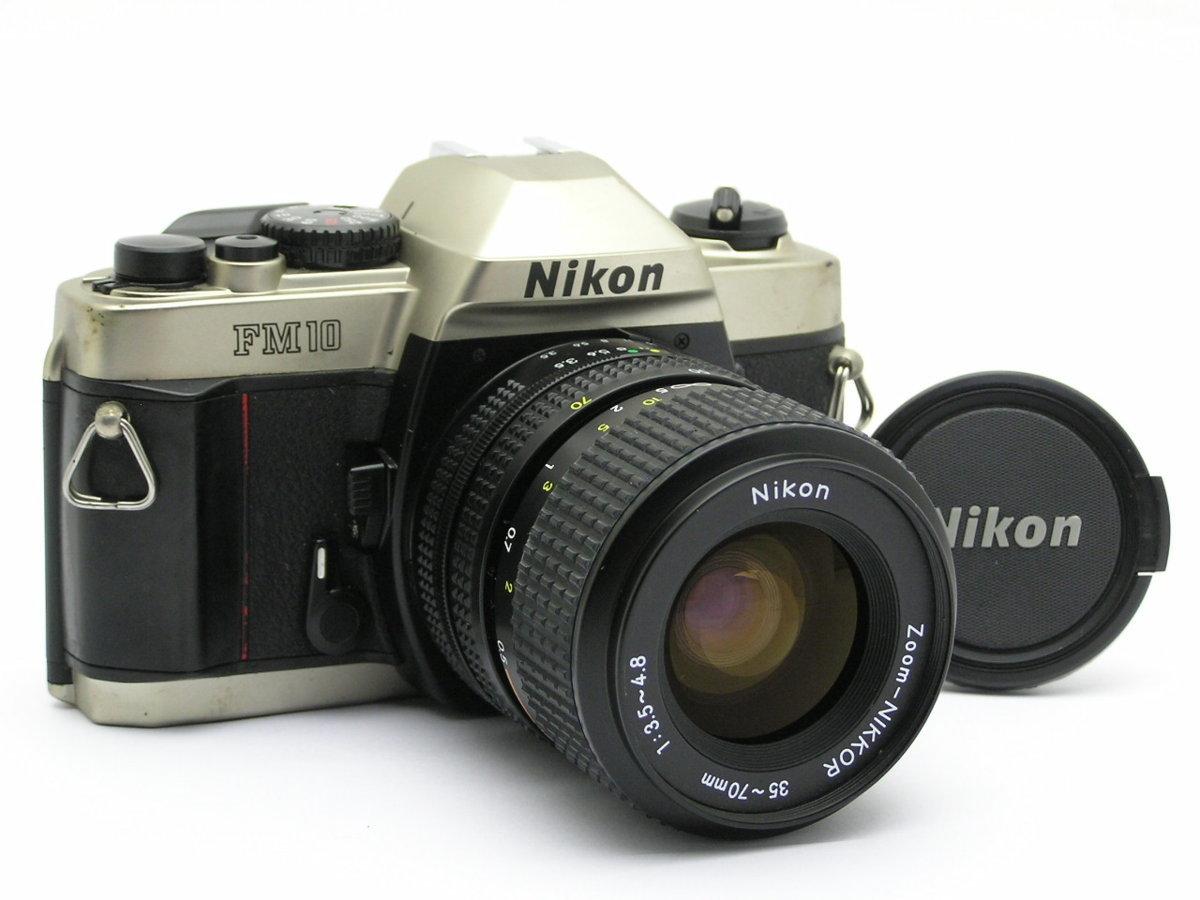 ★ハローカメラ★9385 Nikon FM10 ( Zoom-NIKKOR 35-70mm F3.5-4.8 ) 難有:動作品  現状  1円スタ-ト