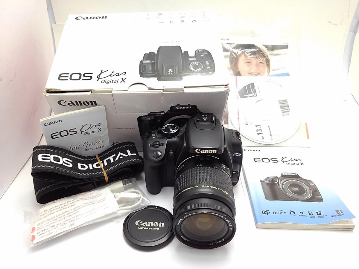 ★ハローカメラ★9387 Canon EOS Kiss Digital X 28-80mm 3.5-5.6Ⅳ (1010万画素) 【本体のみ】動作品  現状  1円スタ-ト
