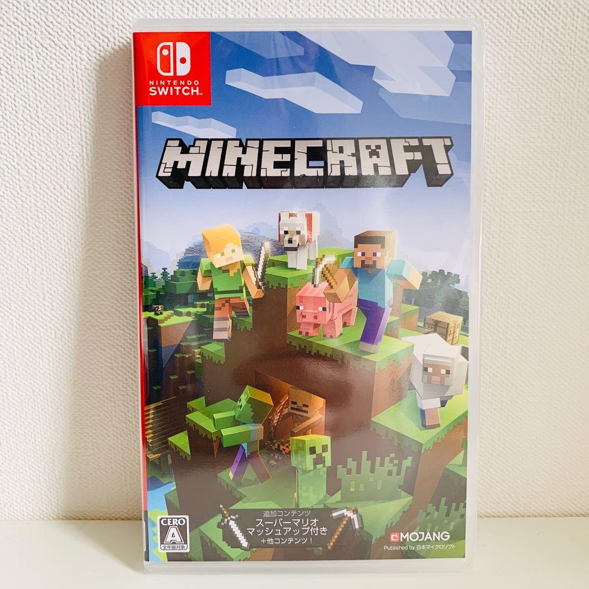Nintendo Switch ソフト Minecraft マインクラフト