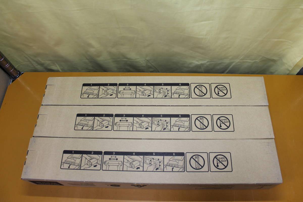☆1410 SHARP シャープ 純正トナー 3本セット MX-61JT-YA MX-61JT-CA MX-61JT-BB イエロー シアン ブラック_画像4