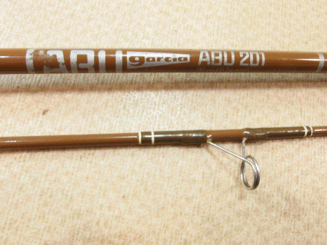 アブ ガルシア ABU garcia ABU 201 2ピース スピニングロッド オールドロッド (6-1128_画像8