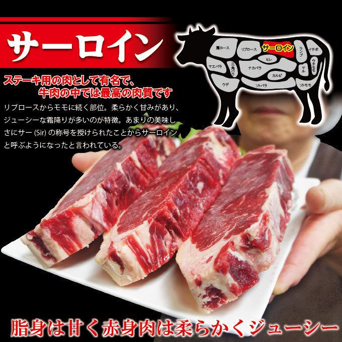 厚切りサーロインステーキ冷凍 約300g(1枚入)豪州産 【牛肉】【ステーキ肉】【赤身肉】【焼肉】【バーベキュー】_画像2